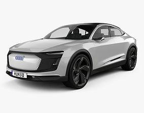 Audi E-tron Sportback 2017 3D