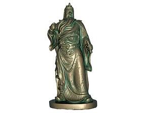3D print model 3D model realtime Guan Gong Sculpture