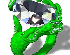 3d Mermaid ring