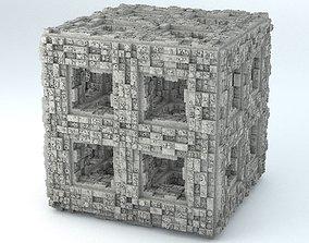 Sci-Fi Shapes - The Quadron 3D model