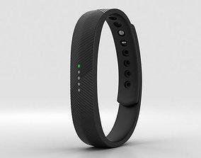 Fitbit Flex 2 Black 3D model