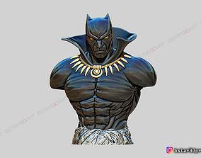 3D printable model Black Panther BUST - Marvel Comic - Fan