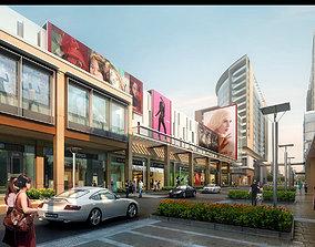 Urban Storefront Scene 343 3D Models