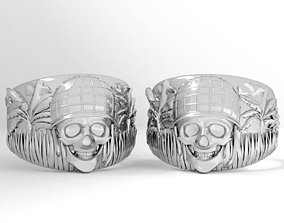 Ring skull vietnam 3D printable model