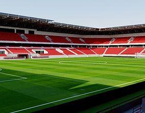 Stadion Antona Malatinskeho - Trnava 3D model