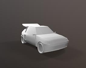 3D model Peugeot 205 Group B Inspired Car