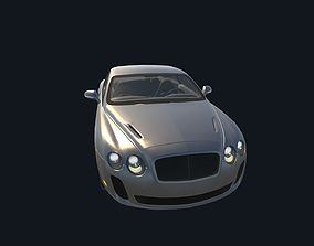 Game Ready Real Car 5 3D asset