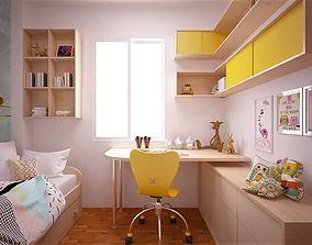 3D model child room
