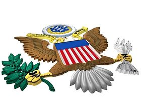 3D model Great Seal of the United States of America