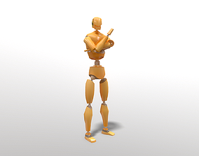 3D asset Crash Test Dummy