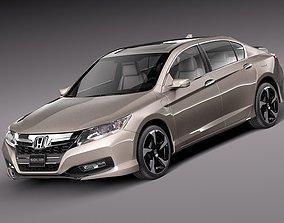 3D Honda Accord PHEV 2013