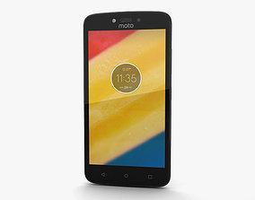 3D Motorola Moto C Fine Gold