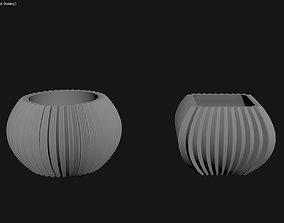 3D Printed Planter Plant Pot Plant Vase 119
