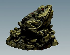 3D Money toad