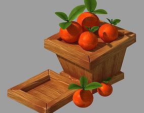 3D Dynasty City - Orange Blue