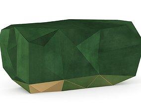 Boca Do Labo Diamond Emerald Sideboard 3D asset