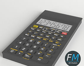 3D model Electronic Calculator 3