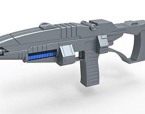 Andorian Plasma Rifle from Star Trek Enterprise 3D model 1