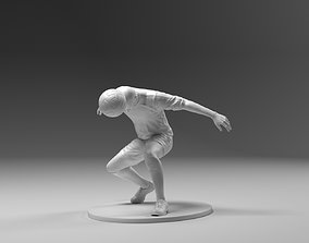 3D printable model Footballer 03 Headstrike 01 Stl