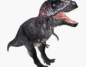 3D asset animated realtime Tyrannosaurus Rex