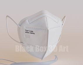 mask N95 Mask 3D model
