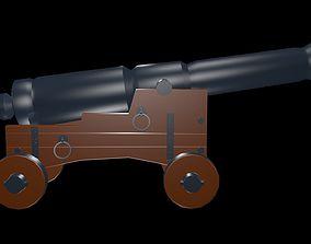 3D Artillery cannon