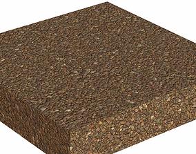 Gravel Cross Sections 3D asset