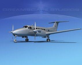 Beechcraft 350 Super King Air VBM 3D