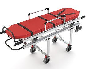 Ambulatory Stretcher 3D model