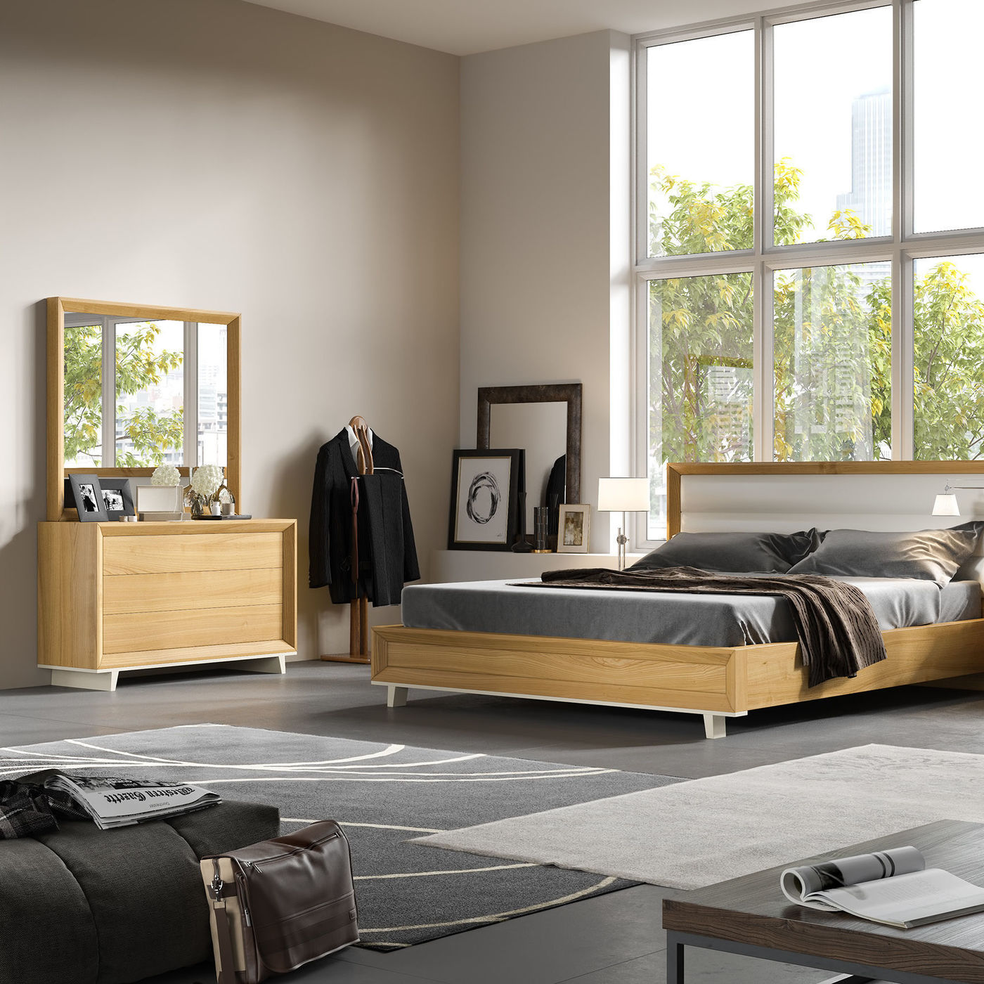 3d visualistion bedroom