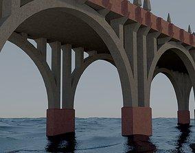 3D model Arch bridge