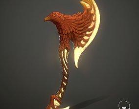 Phoenix Axe 3D model