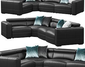 3D model Natuzzi Balance sofa