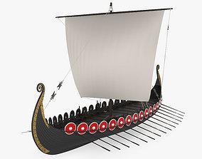 Viking Longship 3D