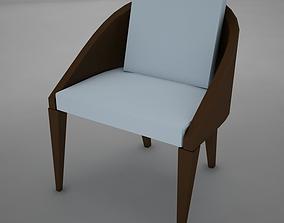 clasic modern chair 3D model