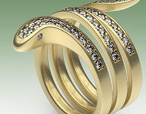spiral 3D printable model Ring Eden