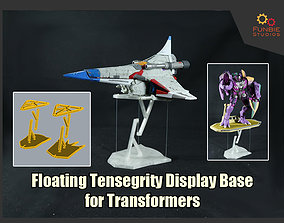 3D print model Floating Tensegrity Display Platform for