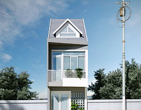 3D model a Small House