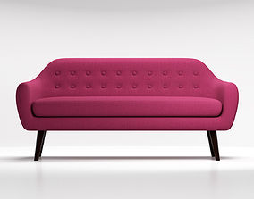 3D model Sofa Ritchie purple