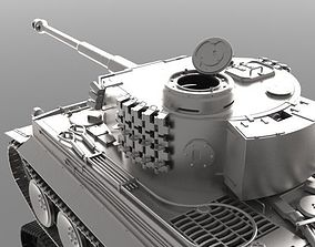 3D model PANZER TIGER I AUSF A - WWII