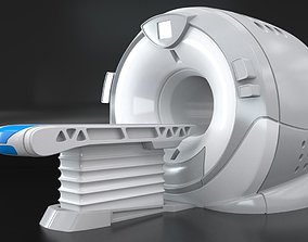 Modern Device Of MRI 3D model