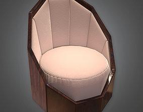 DKO - Designer Chair Art Deco 19 - PBR Game Ready 3D model