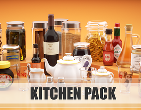 Kitchen pack 3D