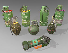 3D model Grenage Collection