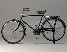 3D Rigged Road Runner Bicycle
