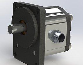 3D model Hydraulic Pump