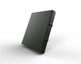 Simple Book Green 3D