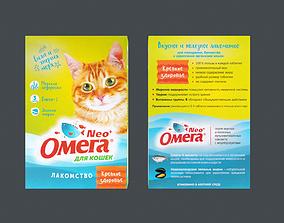 Cat Food RU 3D asset