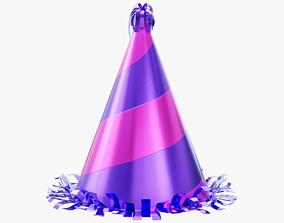 Party Hat 01 3D model