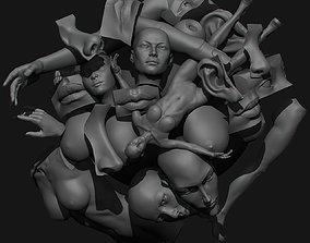 Anatomical set 3D model